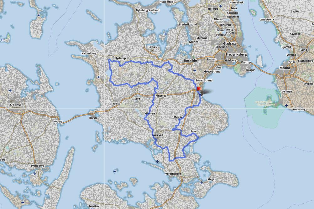 Sjælland rundt ruten