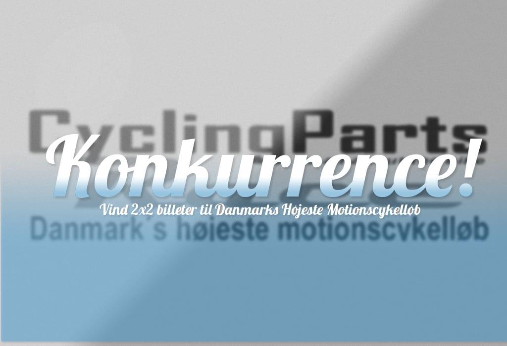 Vind billetter til Cykling Parts Race - danmarks højeste motionscykelløb.