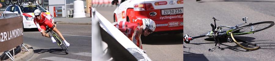 Niki Byrgesen tour de Lavenir Styrt