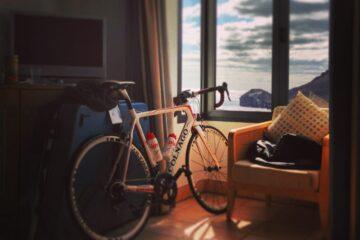 Lige landet og klar til cykling © Foto: Mads Primgaard