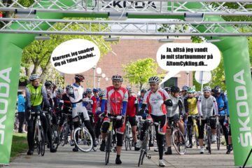 Cykling Parts Race - Danmarks Højeste Motionscykelløb 2013