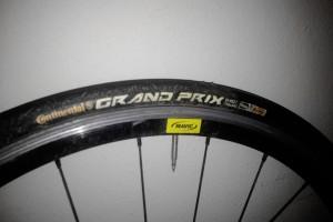 Continental Grand Prix 24mm ©AltomCykling.dk