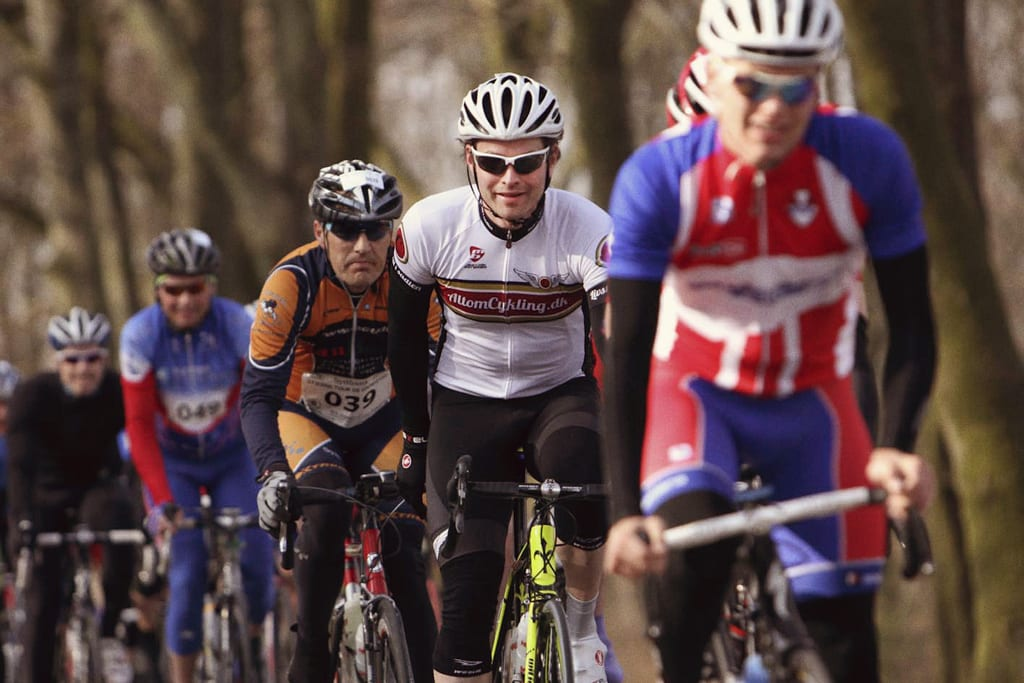 Åst bakke Sydbank Stjerne tour de Grindsted start ©Henrik Lambæk