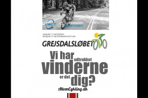 Vinderne at billetter til Copenhagen Gran Fondo og Grejsdalsloebet 2013