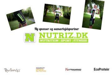 Nutriz.dk er ny sponsor / samarbejdspartner for 2013 - 2014, det bliver sjovt! © Photo: AltomCykling.dk