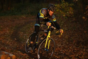 Joachim Parbo training on his new bike in Lostice Photo © Uggi Kaldan // AltomCykling.dk