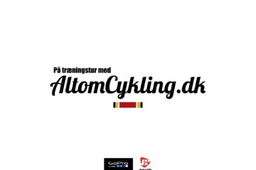 Redaktøren trillede en tur fra Silkeborg til Ry, med GoPro på rammen © AltomCykling.dk 2013