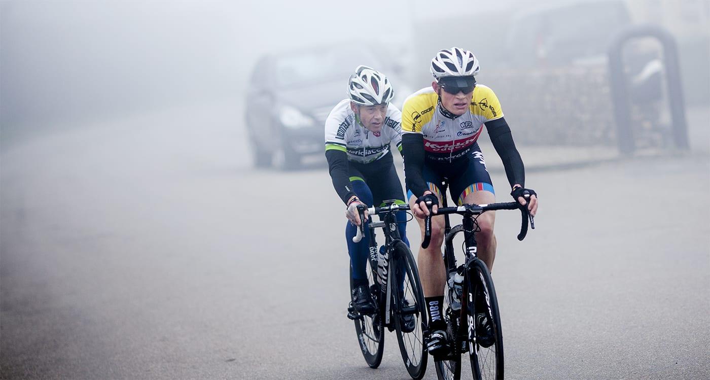 Rutineret Torleif Roeberg tog sejren foran Rasmus Fjordside ©Photo: Uggi Kaldan // AltomCykling.dk