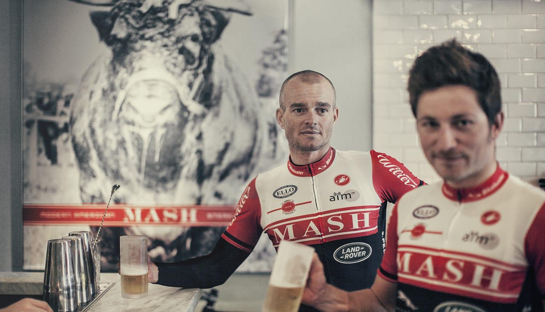 Berling og Fønns, Team MASH fra Aarhus 2014. Photo © Uggi Kaldan, AltomCykling.dk