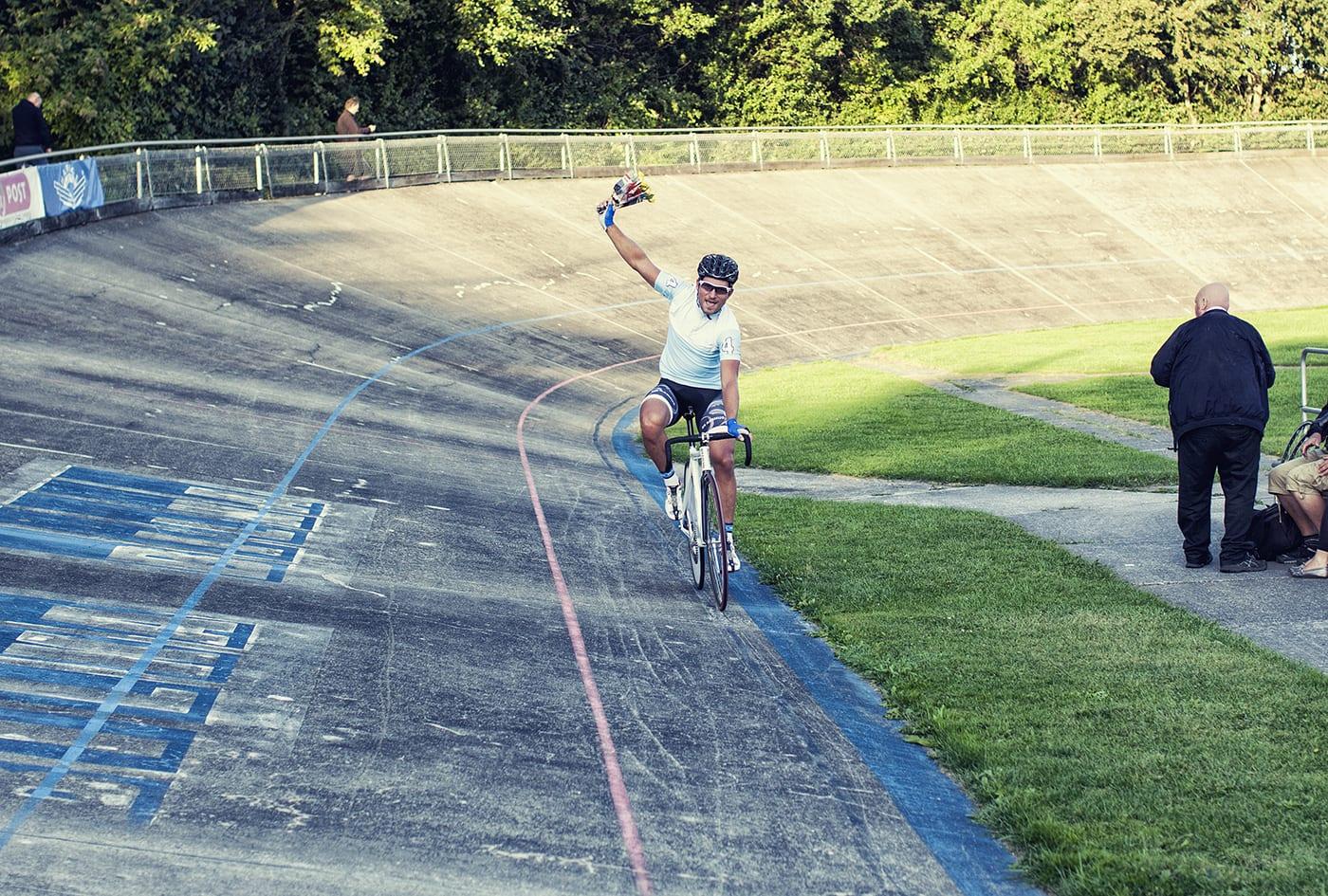 Berling vinder udskilningsløbet til Kay Werners Mindesløb 2014 © Photo: Uggi Kaldan // AltomCykling.dk