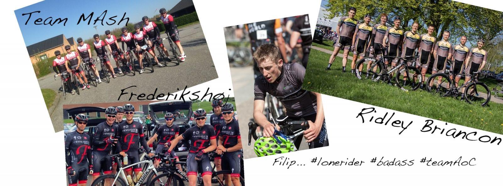 Team MASH, Team Frederikshøj, Team AoC, Team Ridley Briancon 2014