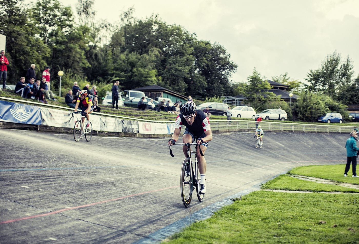 Marc Hester på vej mod samlet sejr til Kay Werners Æresløb i Aarhus 2014 © Photo: Uggi Kaldan // AltomCykling.dk