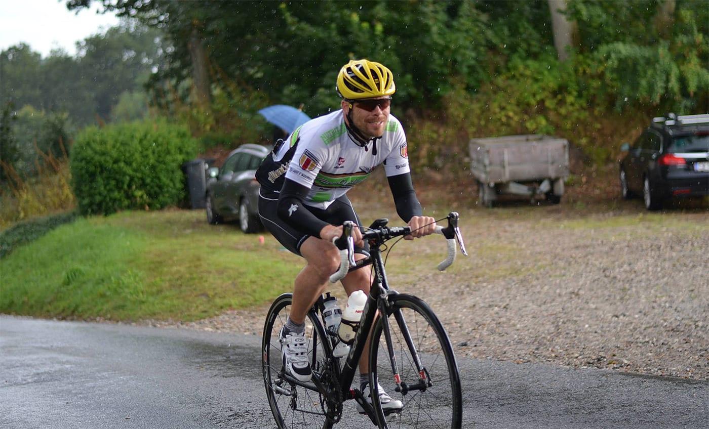 Teammate Jesper Bjerring blev også sat i Stjær, desværre nåede han aldrig op © Photo: Mads Lund
