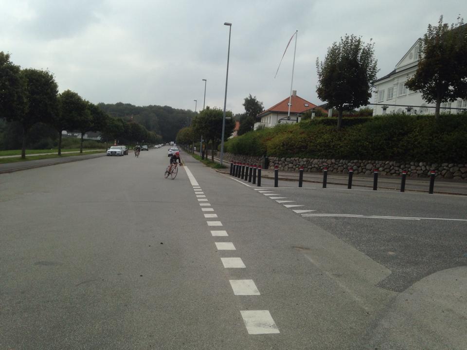 Tine de sidste meter på vej mod mål © Photo: AltomCykling.dk