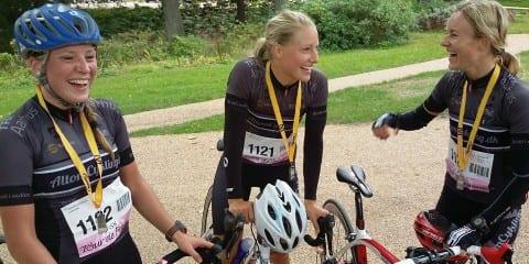 Team AltomCykling vinder Tour de Femme 2014 ©Photo: AltomCykling.dk