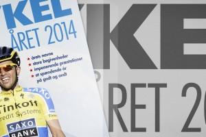 Cykel året 2014, Feltet.dks årbog © Grafik: AltomCykling.dk 2014