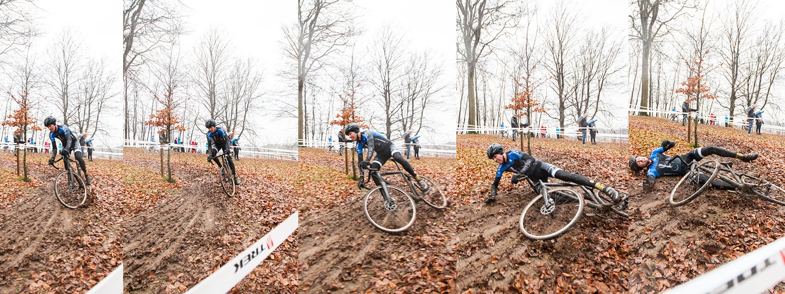 Chrash Simon Zdrenka Odder TREK CX ©Photo: Uggi Kaldan // AltomCykling.dk