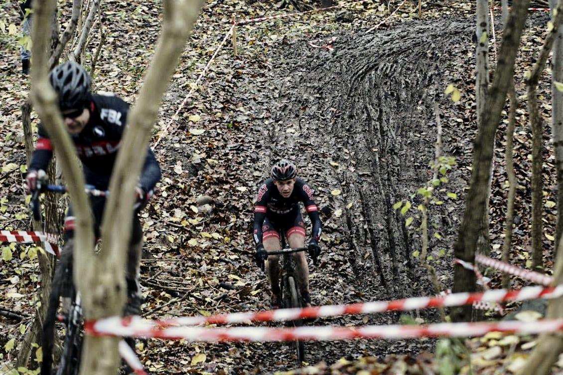 Haardt felt i Soro og masser af mudder ©Photo: Morten Tillquist // AltomCykling.dk