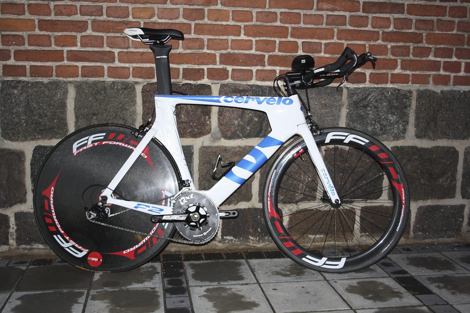 Den (næsten) færdige cykel... ©Jeppe Tolbøll // AltomCykling.dk