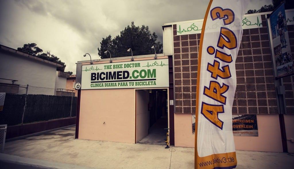 Bicimed.com in Mallorca a great place for bikerental © Photo: Uggi Kaldan 2015 // AltomCykling.dk