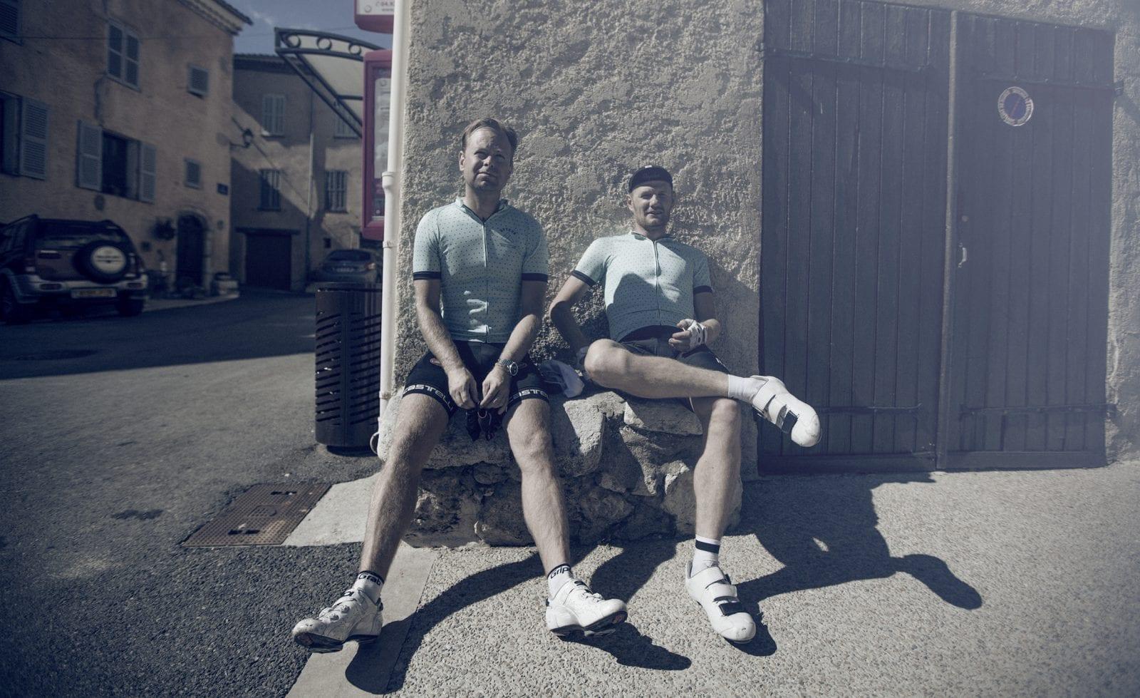 Mikkel og Micheal fra Optour - perfekte værter og guider! © Foto: Uggi Kaldan // AltomCykling.dk