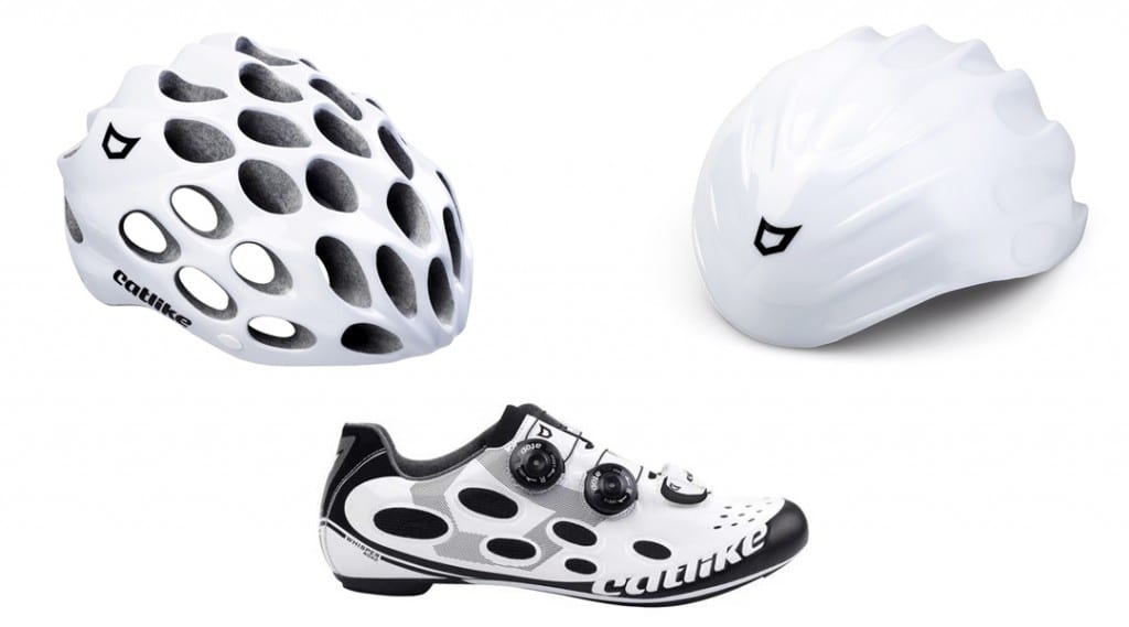 Catlike Whisper Shoes, Helmet and Aerocover