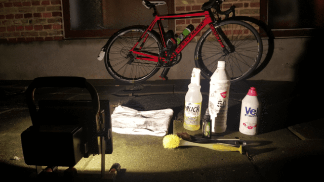 Clean Your Bike - the gear © Altomcykling.dk