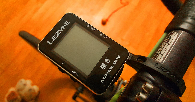 Lezyne Super GPS © Uggi Kaldan // AltomCykling.dk