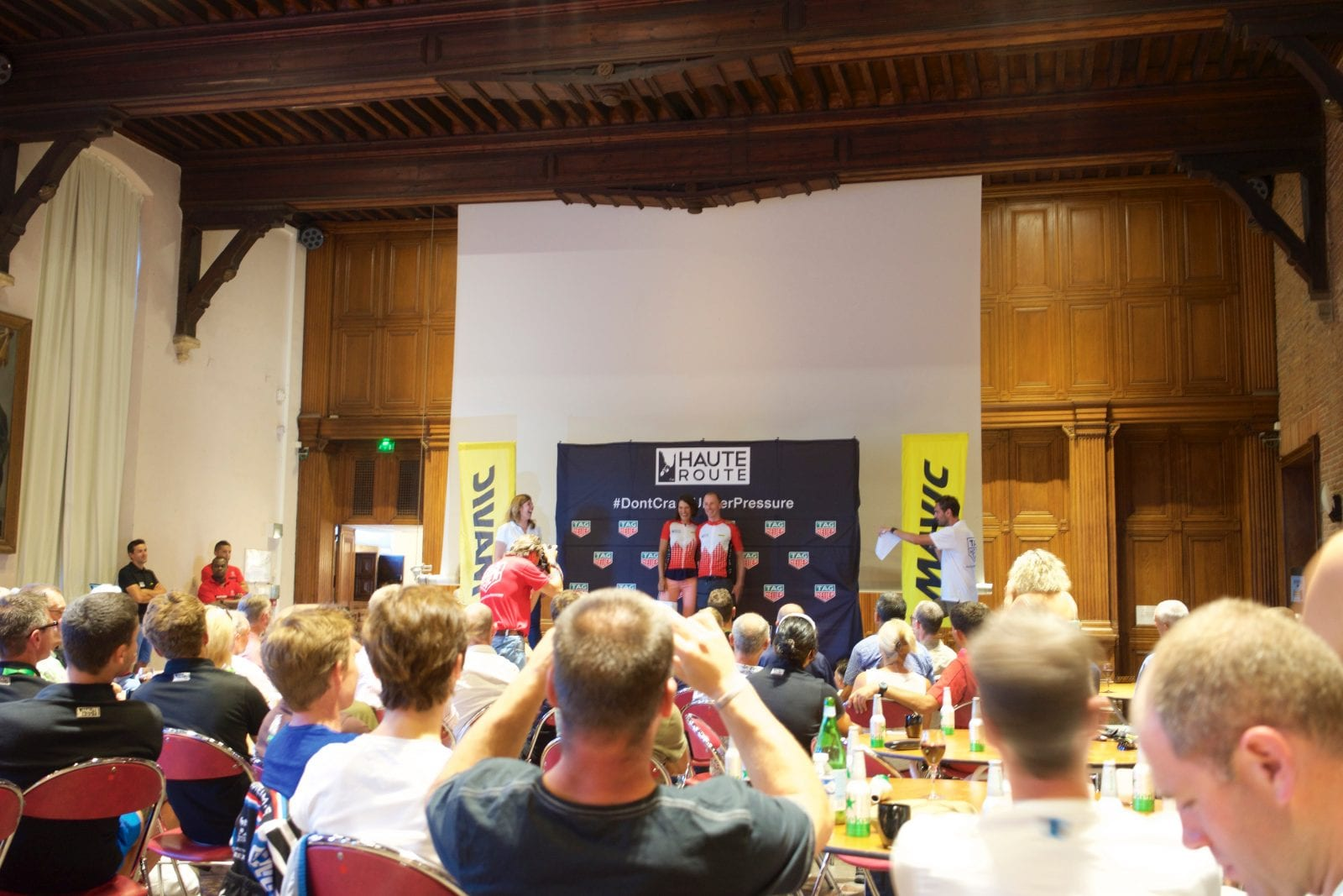 Aftenhygge Haute Route 2015