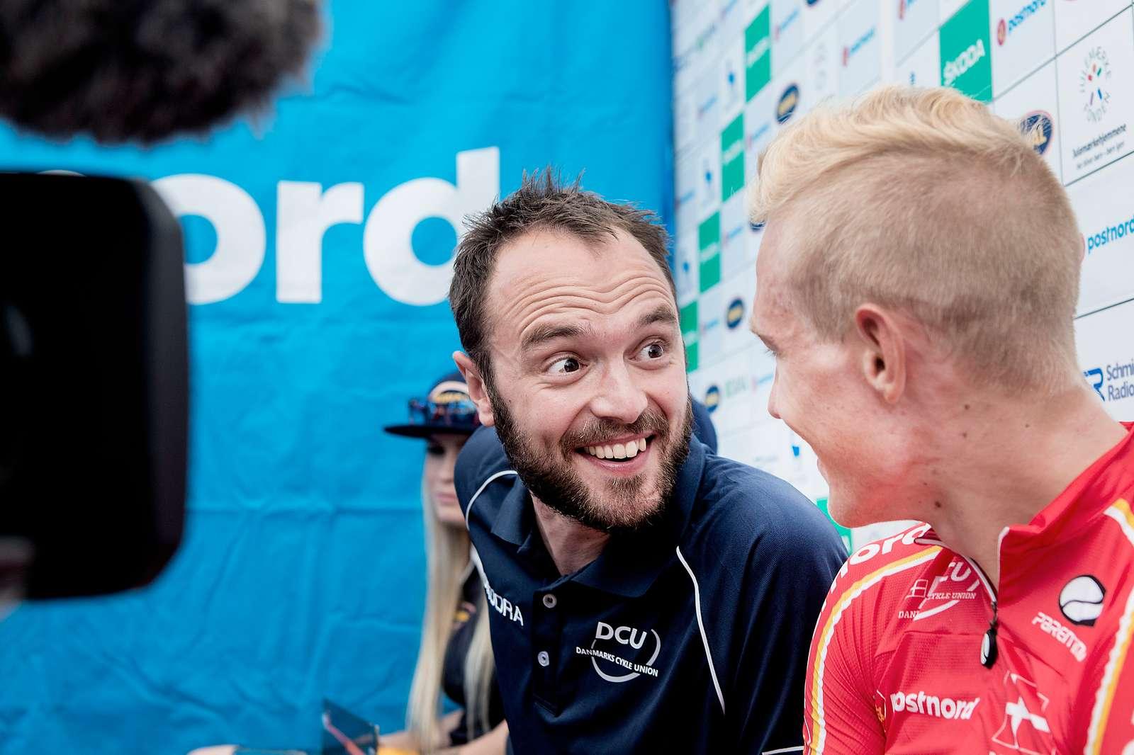 2 Etape opløbet i Sønderborg Vinder Magnus Cort Team PostNord Danmark