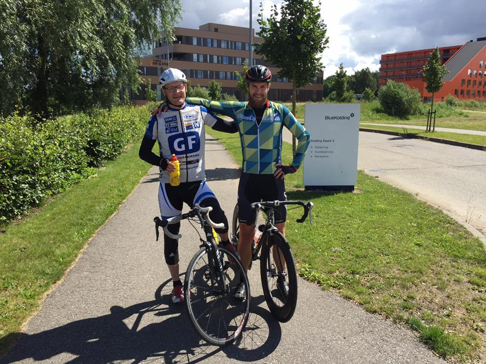 Blue Biking - Nissefar og jeg