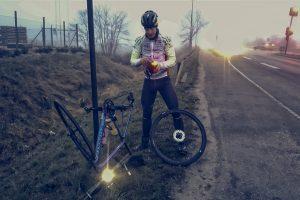 Ultracyklist Peter Sandholt punkteret i Horsens