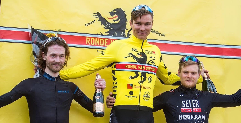Podiet Ronde van Borum 2017