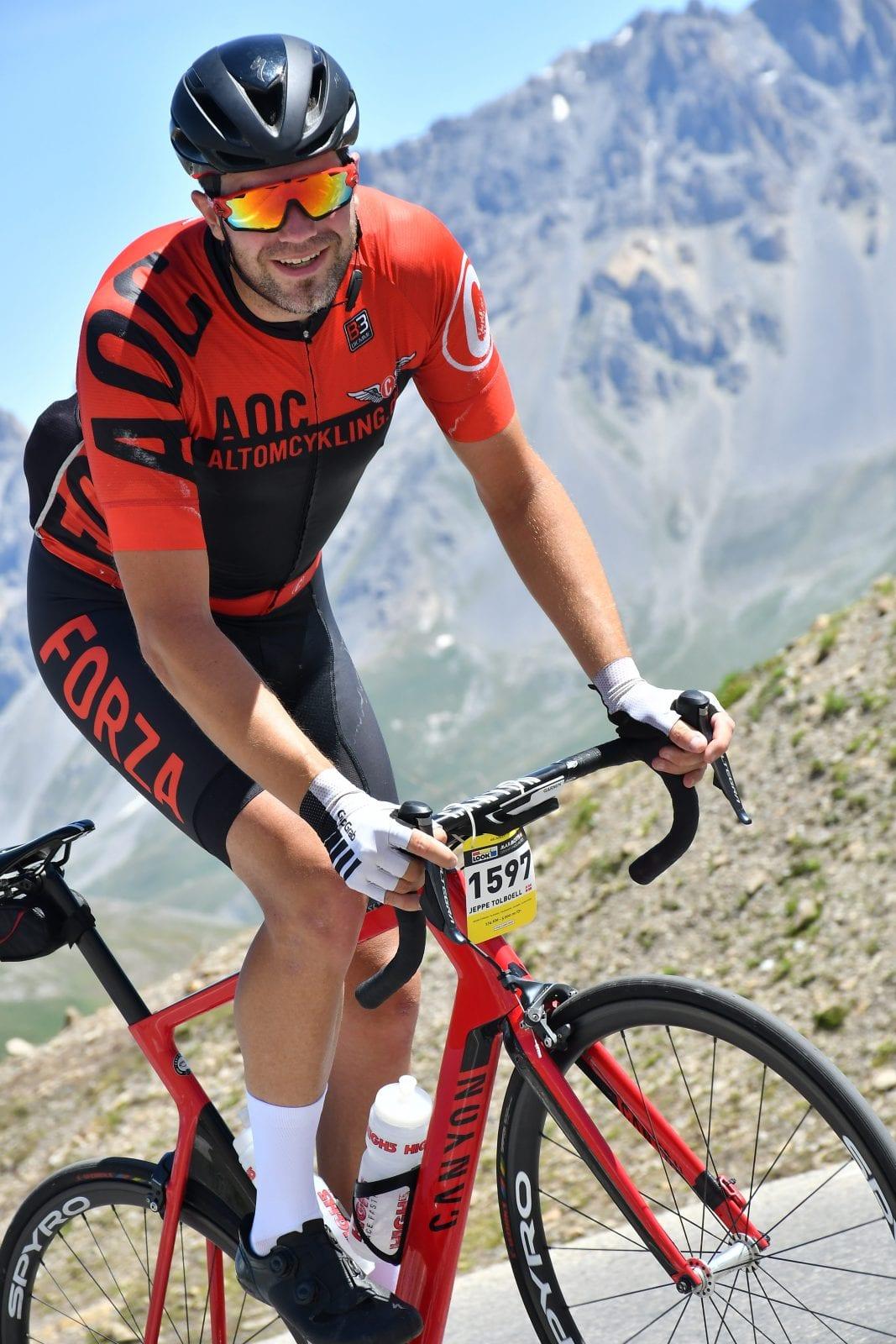 Jeppe Tolbøll La Marmotte 2018 AltomCykling.dk